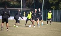 Benevento e Pisa, il training di oggi